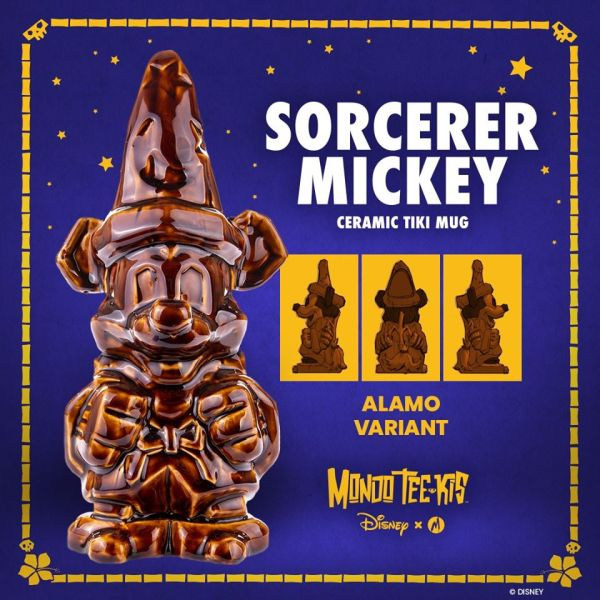 Fantastic New Sorcerer Mickey Tiki Mugs Now Have New Color Variants 2