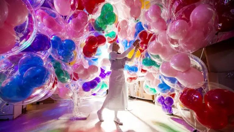 Backstage at the Balloon Room at the Magic Kingdom