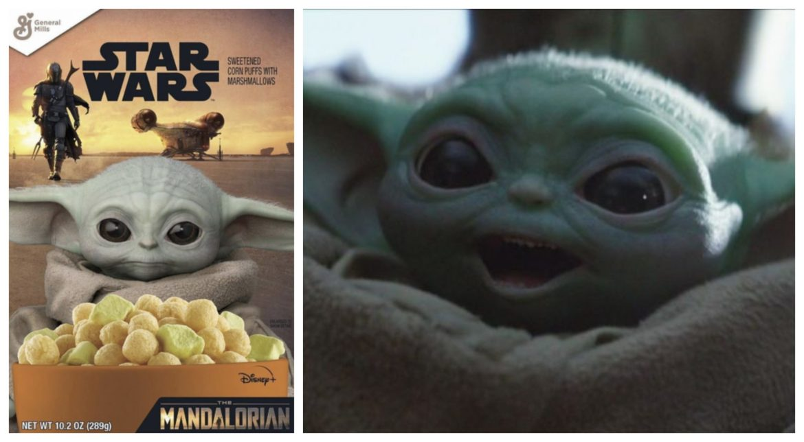 Baby Yoda Cereal from General Mills is coming soon!