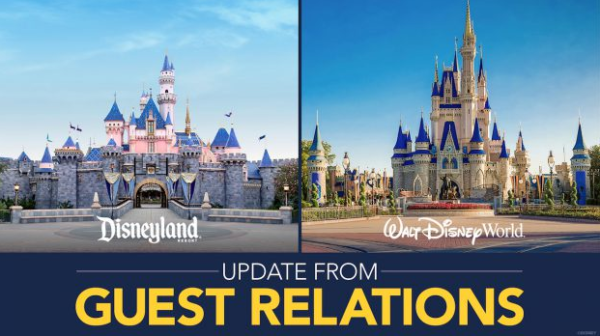 Walt Disney World and Disneyland issue statement on reopening the theme parks 1