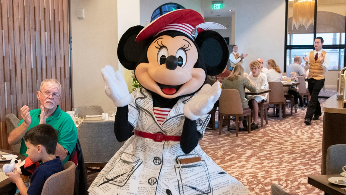 Minnie Mouse Shares One of Her Favorite Poems about Polka Dots