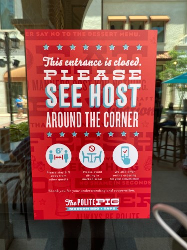 The Polite Pig: Small Safety Changes, Same Great Food 11