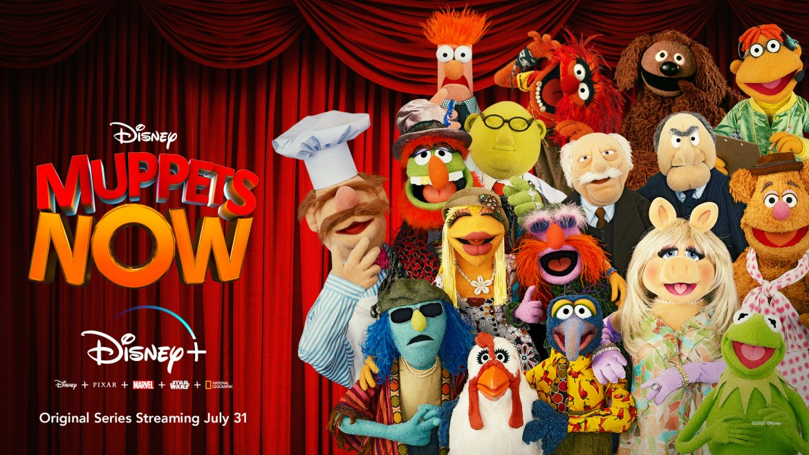 Muppets Now to Premiere July 31st on Disney+