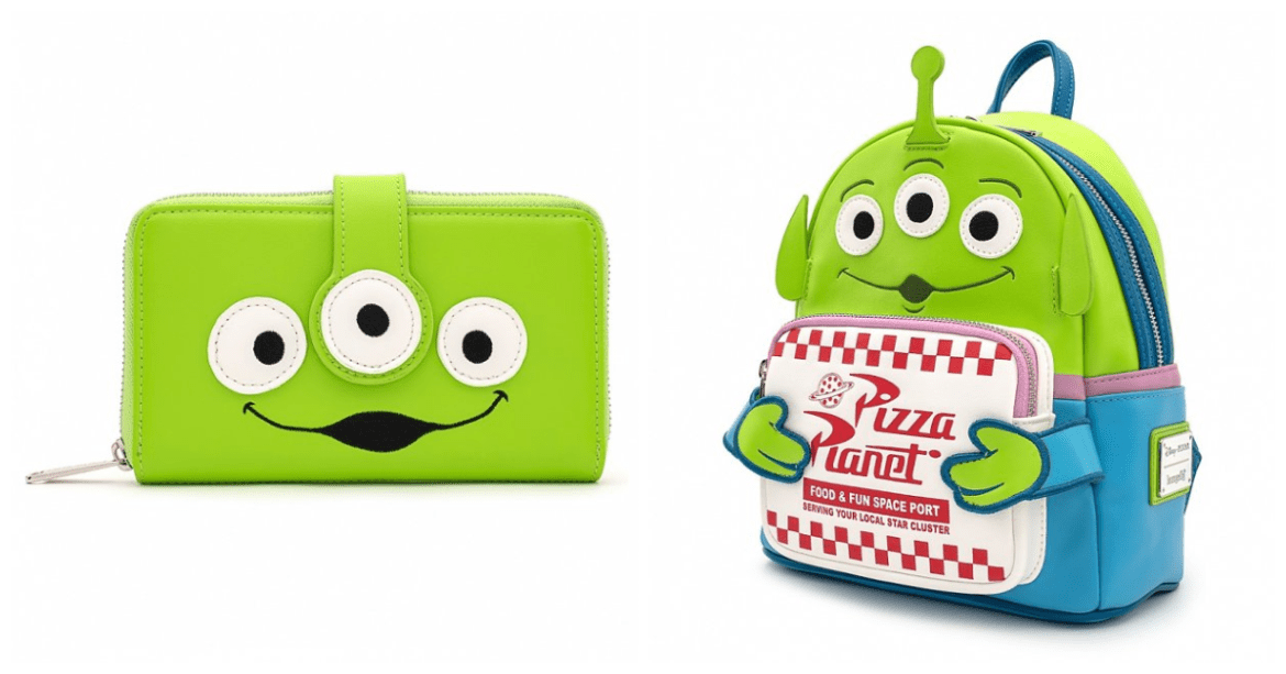 Pizza Planet Backpack And Green Alien Wallet Coming Soon From Loungefly