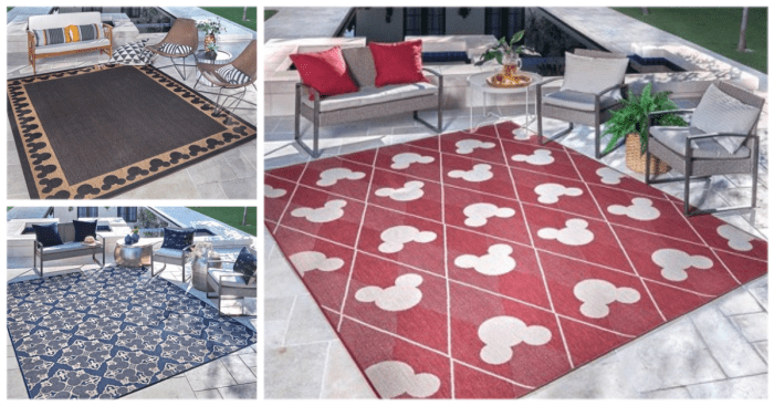 New Mickey Mouse Rugs Are Here To Get Our Patios Summer Ready 1