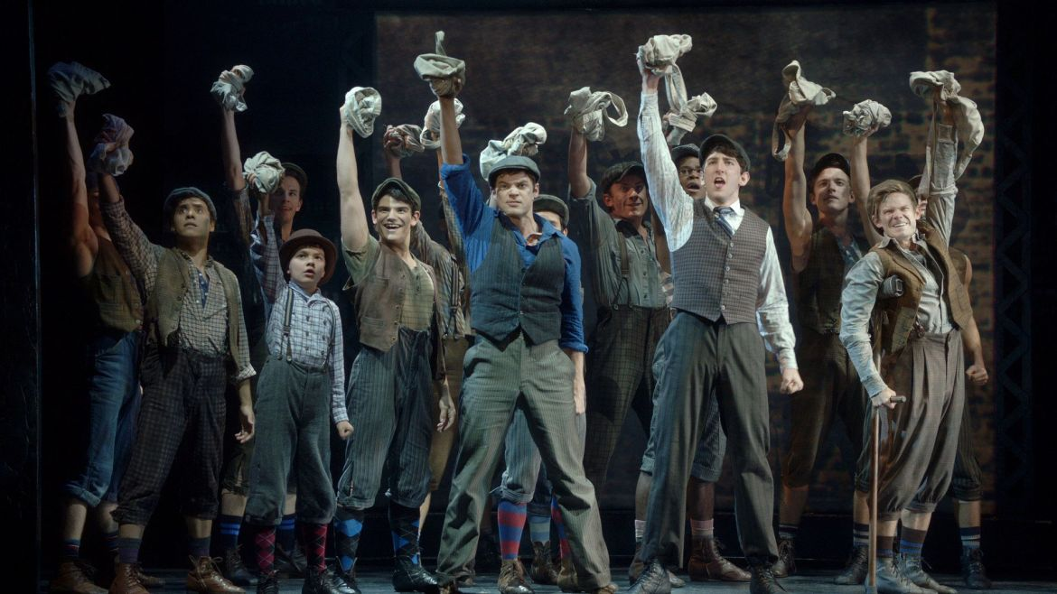 Newsies join Disney on Broadway Live stream today!