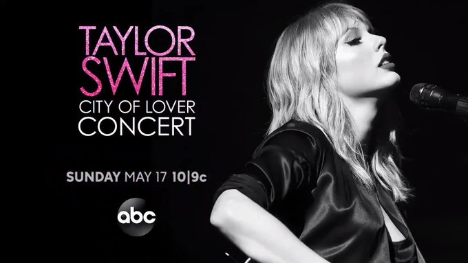 Taylor Swift City of Lover Concert Live on ABC and Disney +!