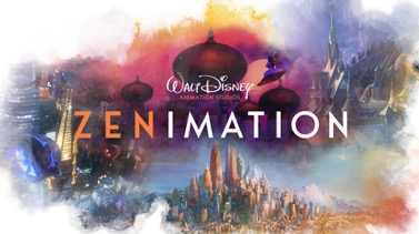 Walt Disney Animation Studios launched the new, 10-episode animated series called Zenimation on Disney+