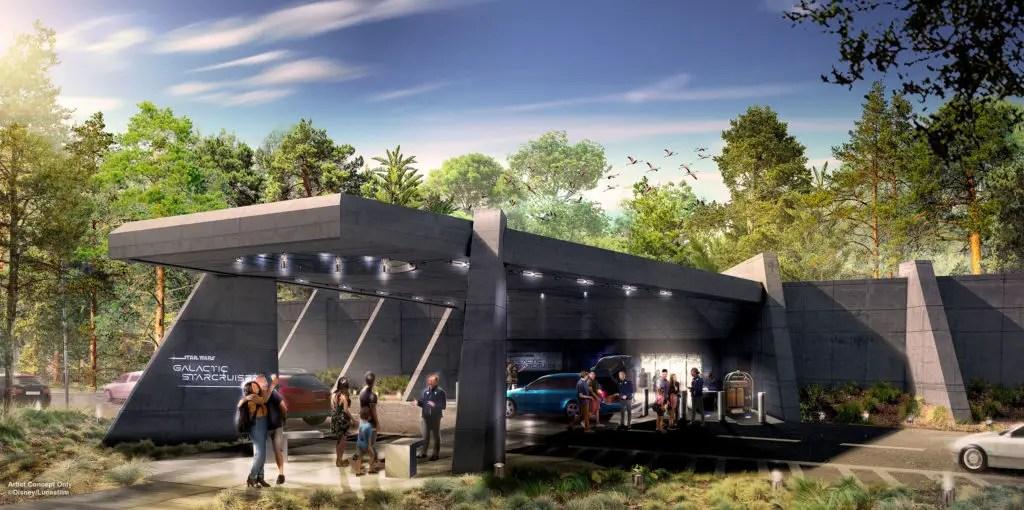 Permits Filed for Star Wars Galactic Starcruiser at Walt Disney World
