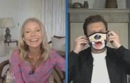 Kelly Ripa And Ryan Seacrest Share An Up-Close Look At New Disney Face Masks!