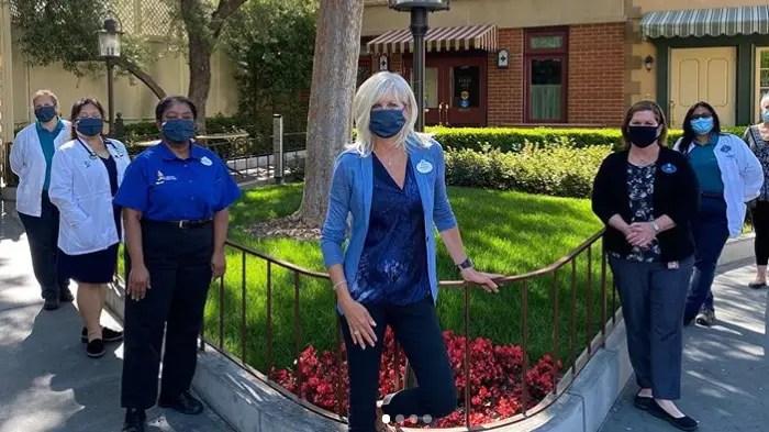 Disneyland President Rebecca Campbell Celebrates Nurses Week at Disneyland