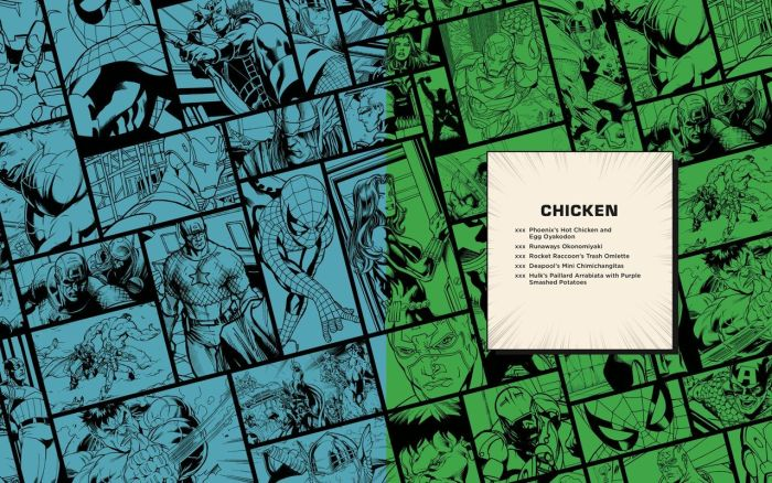 Marvel Eat The Universe With The Official Marvel Cookbook 3