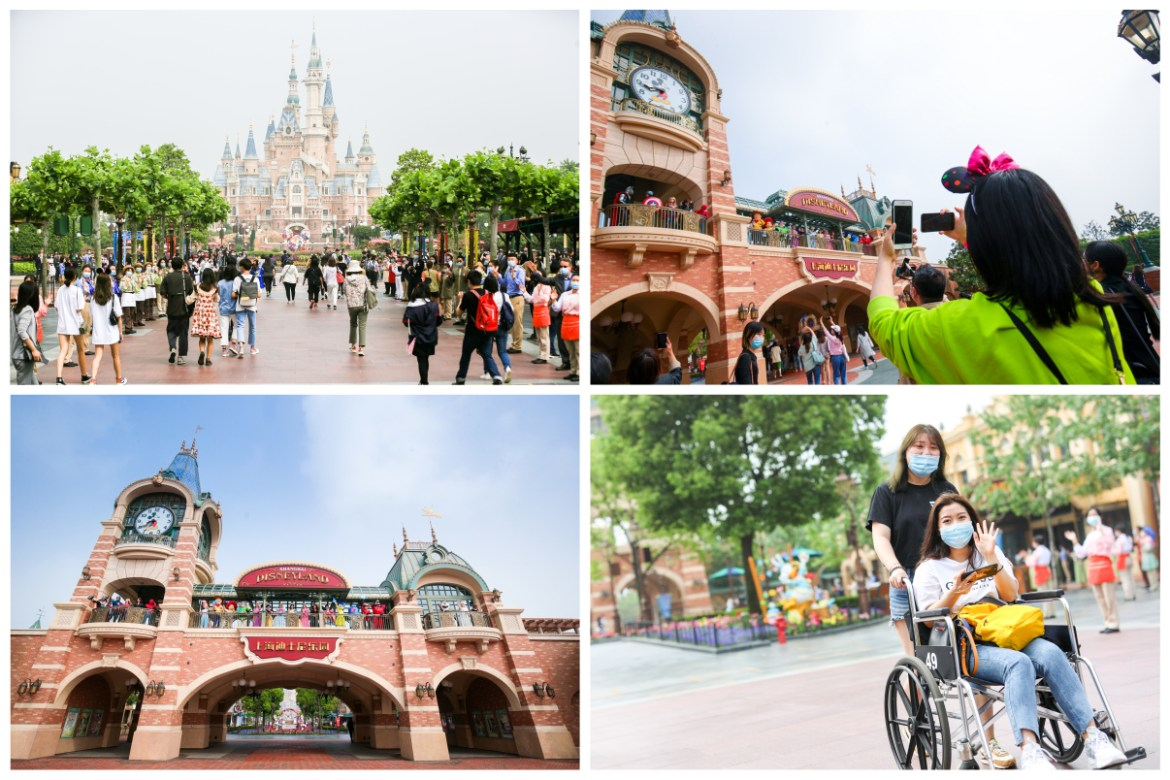 Good Morning from recently opened Shanghai Disneyland
