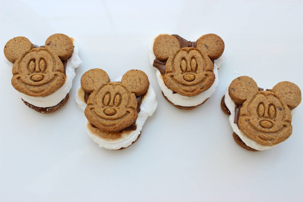 Homemade Mickey S'mores Recipe