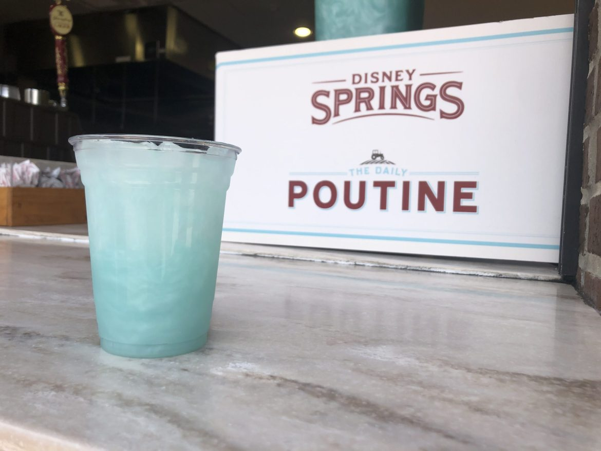 Arendelle Aqua Punch is a Summer Treat at Disney Springs