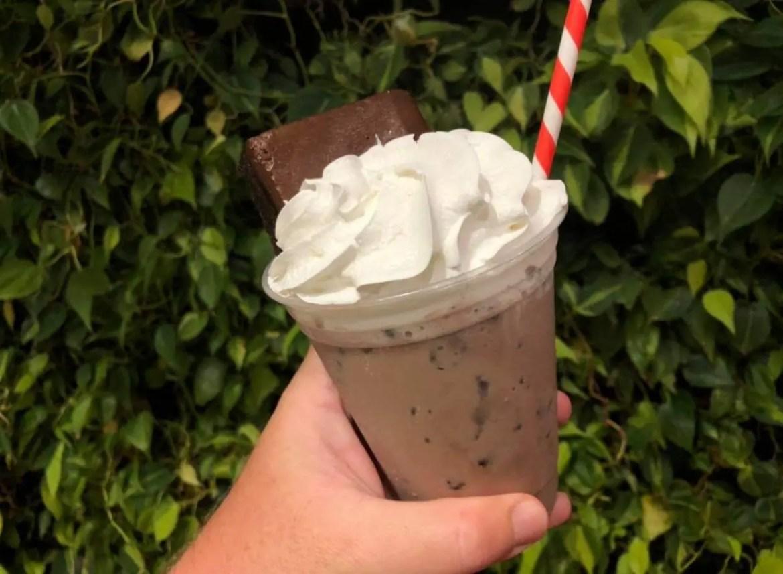Boozy Coca-Cola Brownie Drink in Disney Springs
