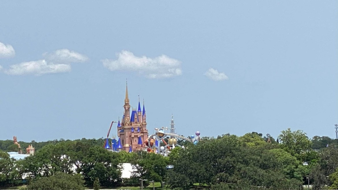 Disney World Cinderella Castle Update