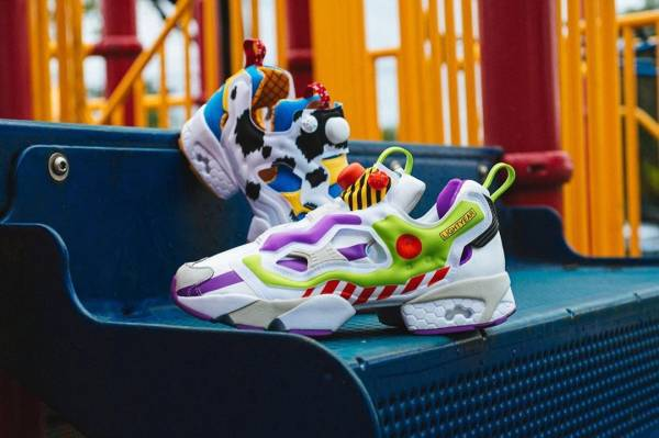 Enter for your Chance to Win These Toy Story Themed Reeboks