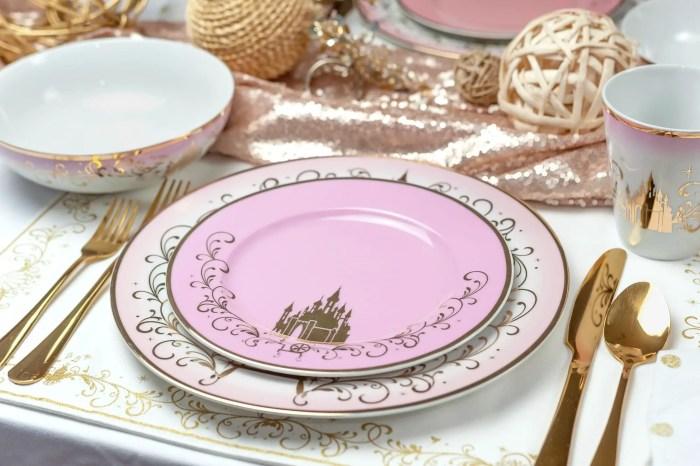 Gorgeous New Disney Princess Dinnerware Second Collection 3