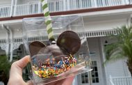 Delicious New Welcome Back Mickey Cake Pop Now At Walt Disney World