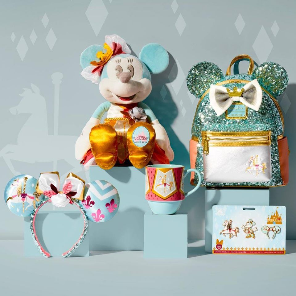 New King Arthur Carousel Minnie Main Attraction Collection Series 7