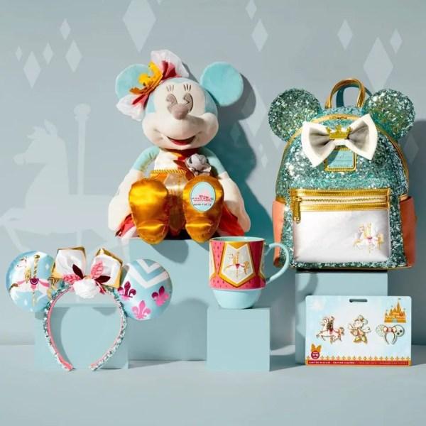 King Arthur Carousel Minnie Main Attraction