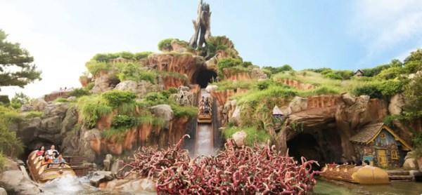 Tokyo Disneyland Considers Changing Theme of Splash Mountain Splash Mountain