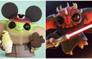 Artist Re-Creates Star Wars and Disney Animated Characters With a Twist