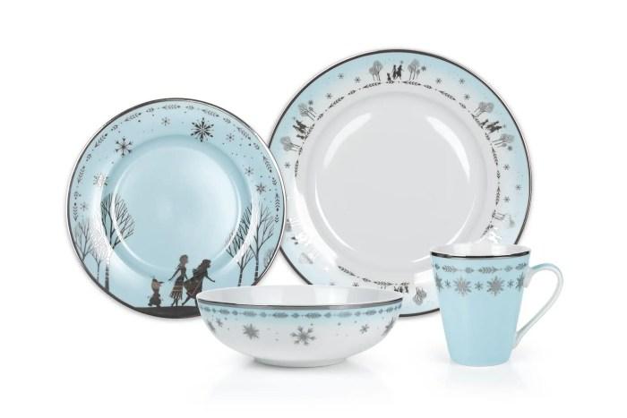 Frozen Dinnerware Set