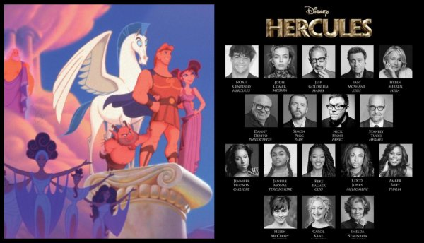 Fan Made Cast List for Disney's Live-Action 'Hercules' Goes Viral