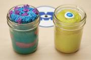Monsters Inc Cake Jar Recipe!