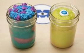 Monsters Inc Cake Jar Recipe!