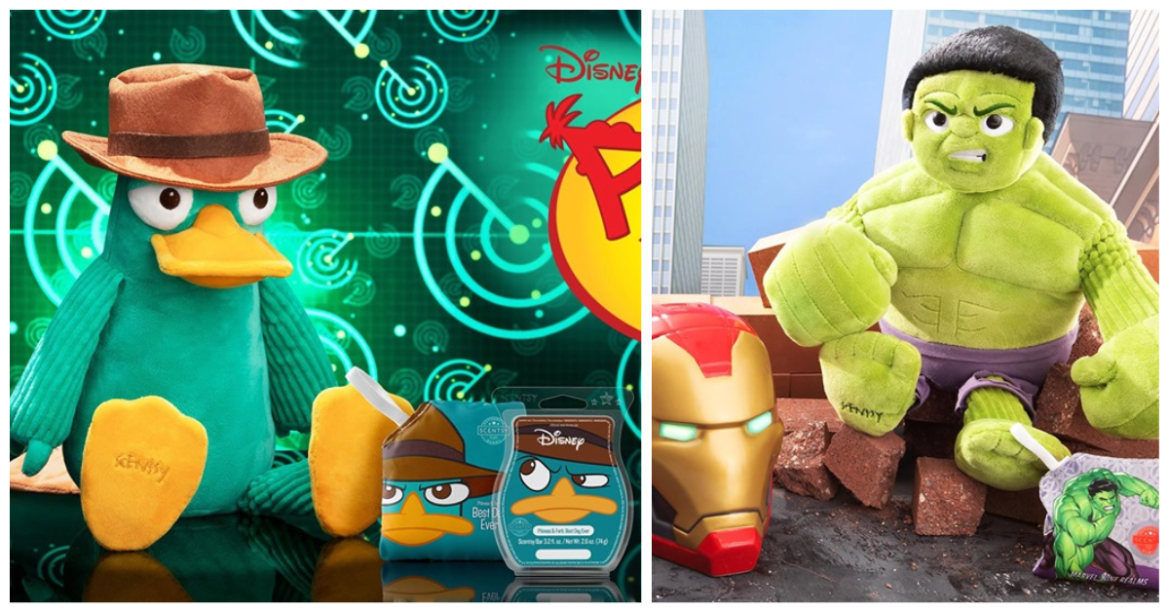 New Marvel And Phineas And Ferb Scentsy Collections Coming Soon