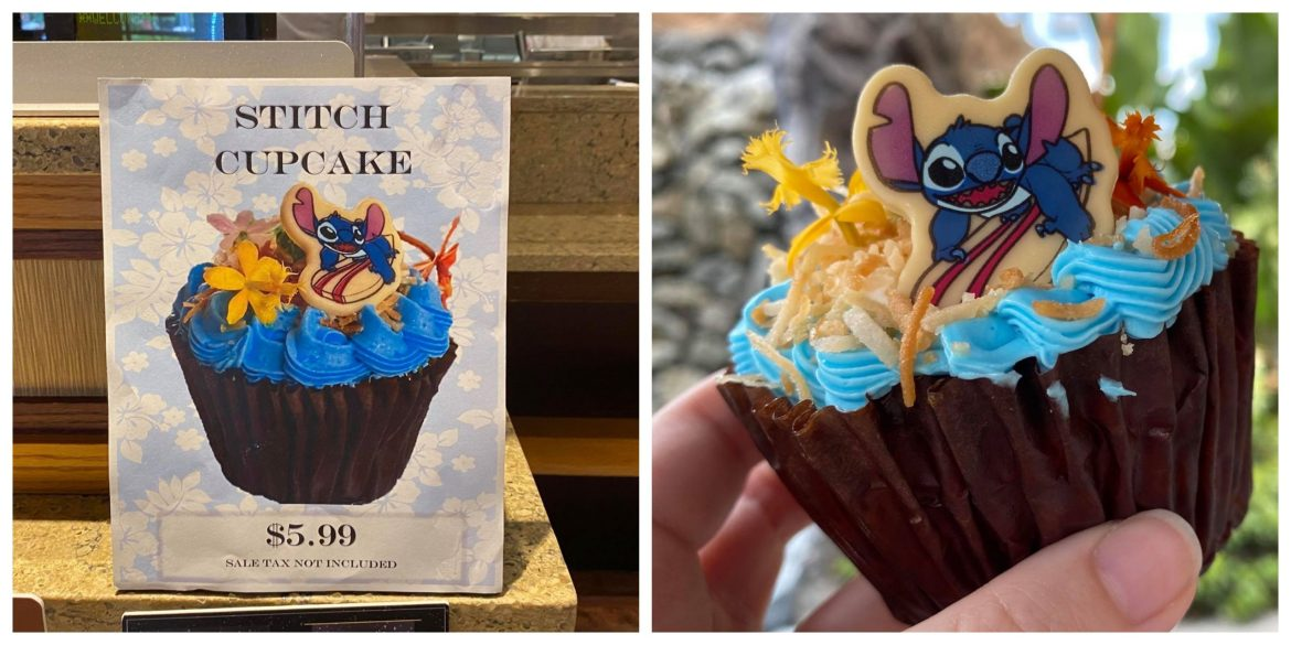 Celebrate 626 Day with this Stitch Cupcake!