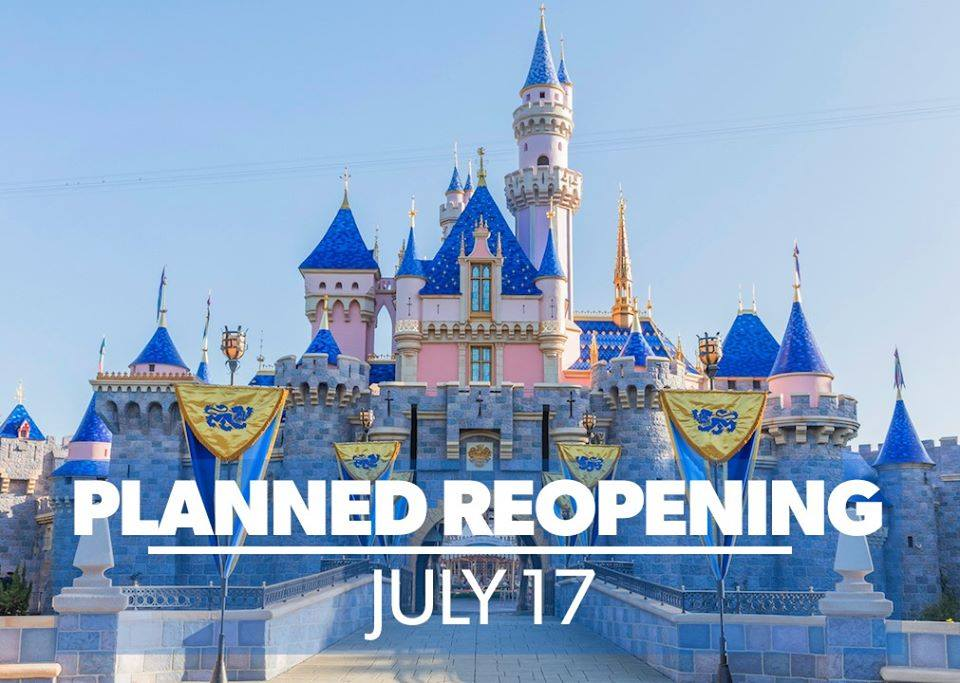 Anaheim Mayor Supports Disneyland Reopening