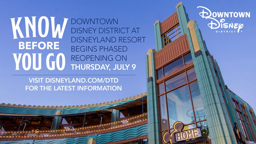 Know Before You Go to the Downtown Disney District Reopening