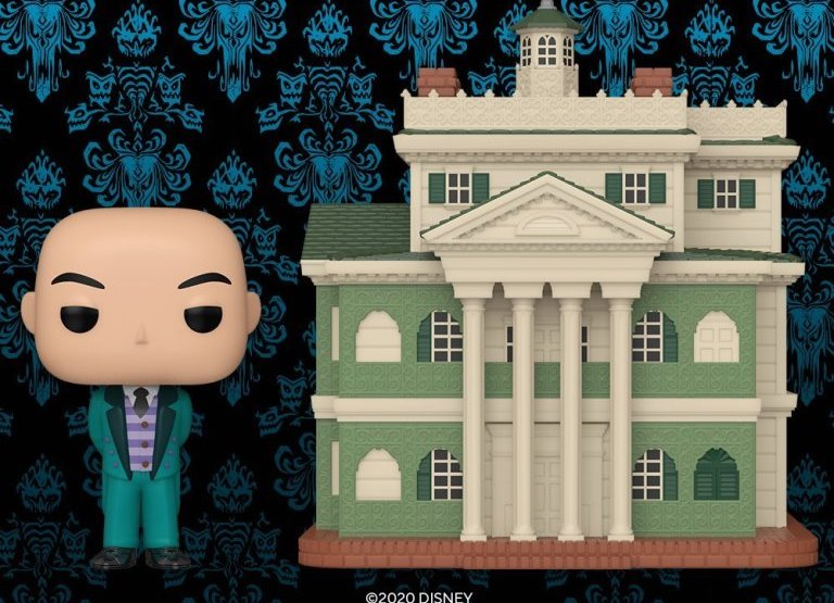 Haunted Mansion Funko POP Featuring The Mansion And Butler