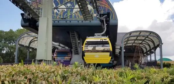 Disney's Skyliners return to operations at Walt Disney World!