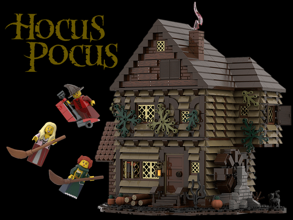 Vote for Hocus Pocus LEGO ideas featuring the Sanderson Sisters! 1