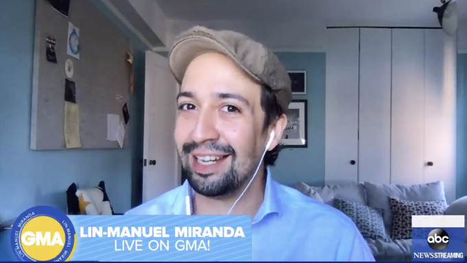 Lin Manuel-Miranda Confirms He Is Working on a New Animated Disney Movie with 'Zootopia' Directors