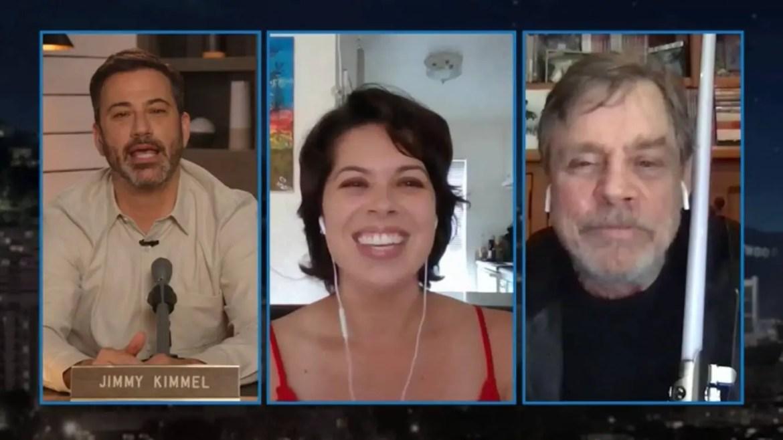 Mark Hamill Surprises Star Wars Fan/Nurse Testing Patients for COVID-19