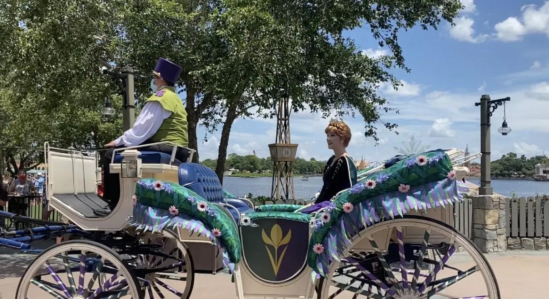 Anna And Elsa Take A Royal Tour Of Epcot's World Showcase