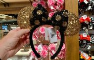 New Black And Gold Minnie Ears Shine With Elegance