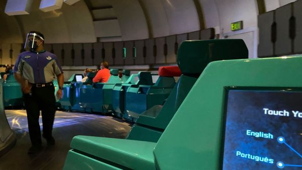 Social Distancing Measures in place for Spaceship Earth 2
