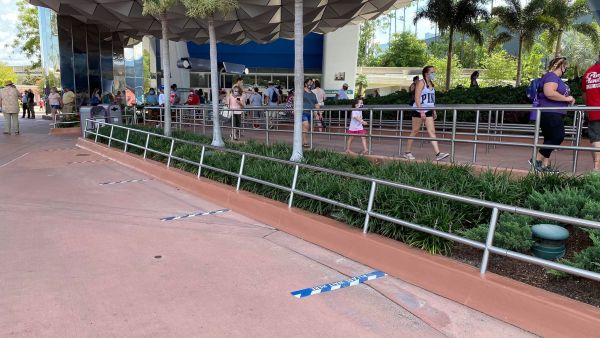 Social Distancing Measures in place for Spaceship Earth 1
