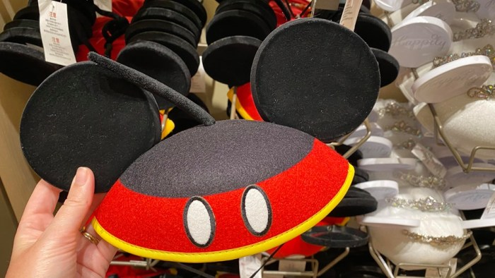 Mickey and Minnie Ear Hats
