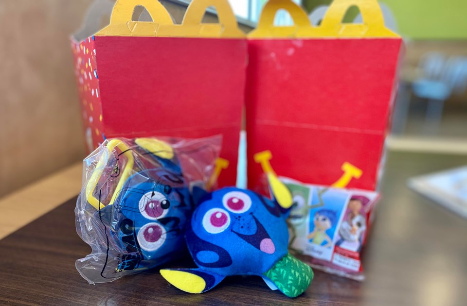 Fun New Pixar Happy Meal Toys Have Arrived At McDonald's