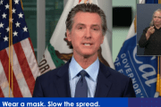 California Governor Gavin Newsom closing indoor operations STATEWIDE