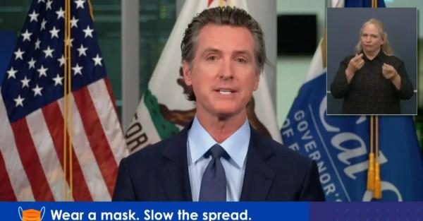 Governor Newsome California