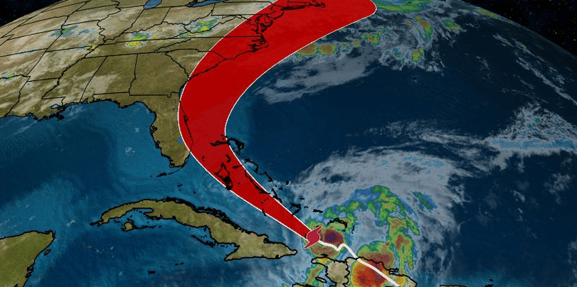 Hurricane Isaias Updated Tracking for Florida
